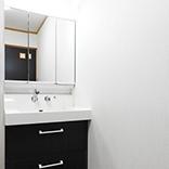 洗面所内装クロス