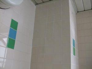 浴室場の壁タイル補修リフォーム