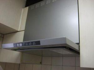 台所の換気扇交換リフォーム
