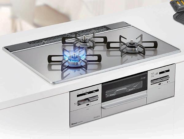 キッチン ビルトインコンロリフォーム リンナイ 間口60cm センスシリーズ