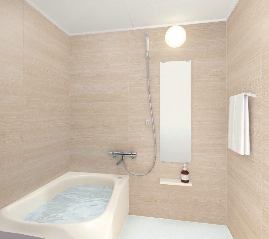 浴室ユニットバスリフォーム TOTO マンションリモデルバスルーム WTシリーズ1216サイズNタイプ
