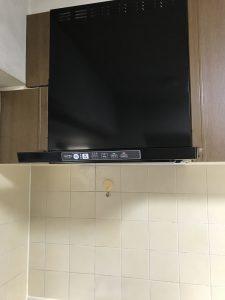 キッチンのコンロ交換、換気扇交換リフォーム