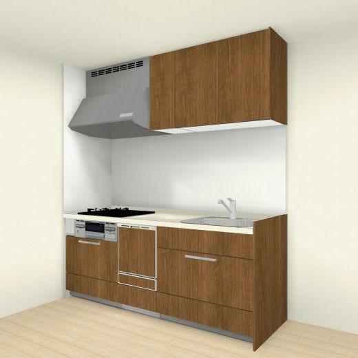 キッチン リフォーム システムキッチン クリナップ ステディアシリーズ 間口240cm (※食器洗い機あり、キッチンパネルは別途になります。)