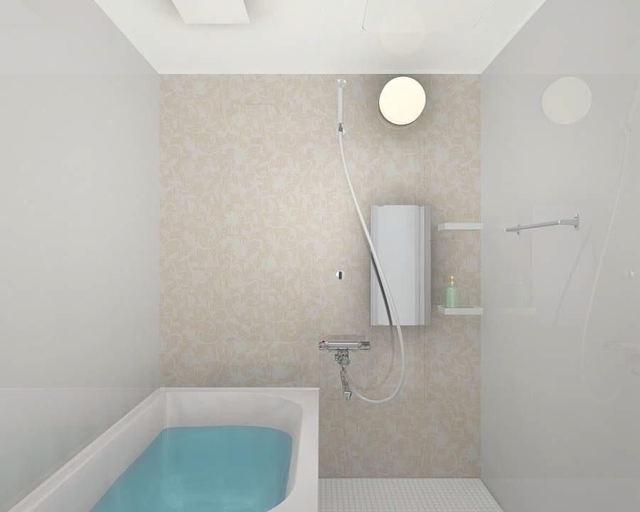 浴室ユニットバスリフォーム リクシル マンションリフォーム用リノビオV 1216サイズEタイプ
