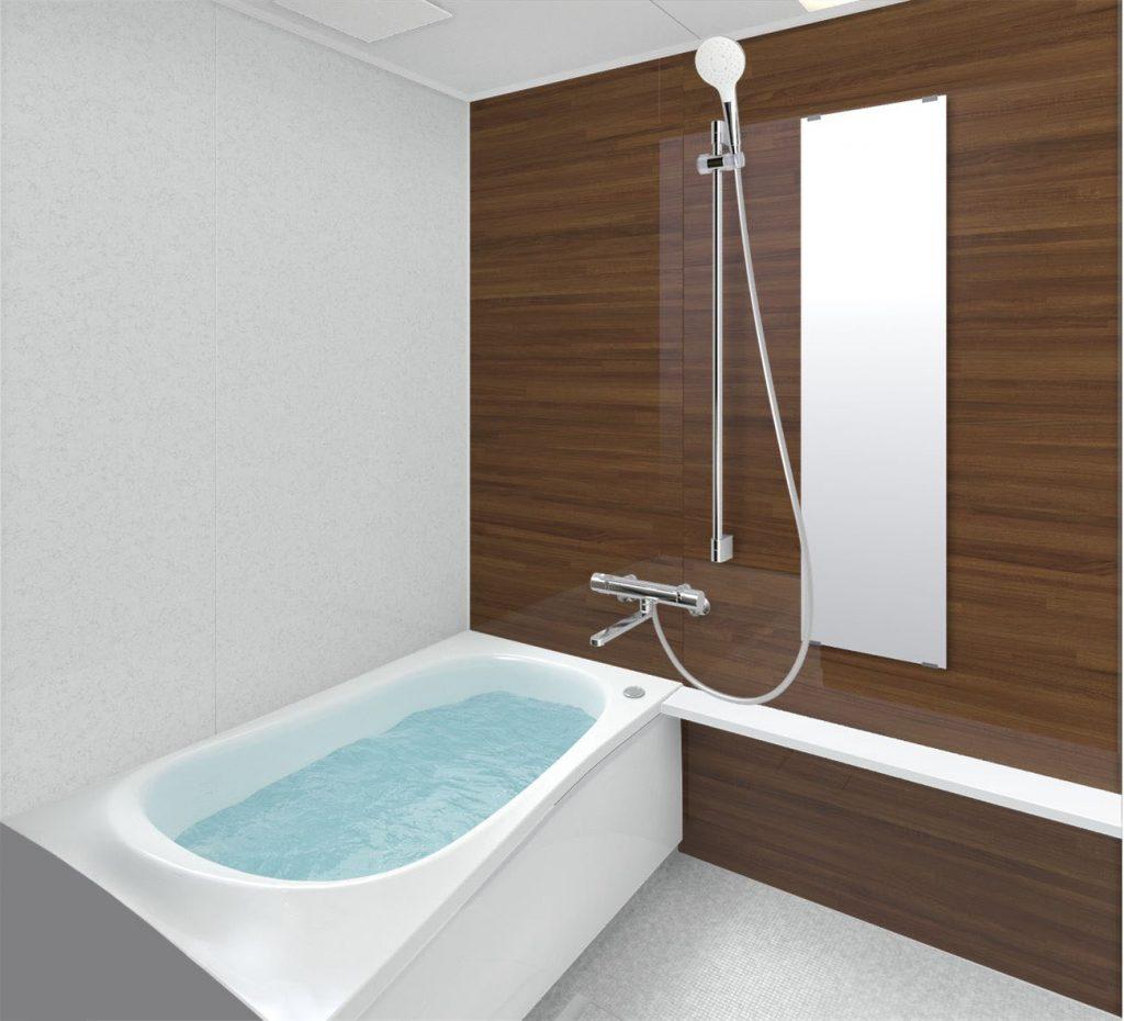 浴室ユニットバスリフォーム TOTO マンションリモデルバスルーム WYシリーズ1216サイズTタイプ