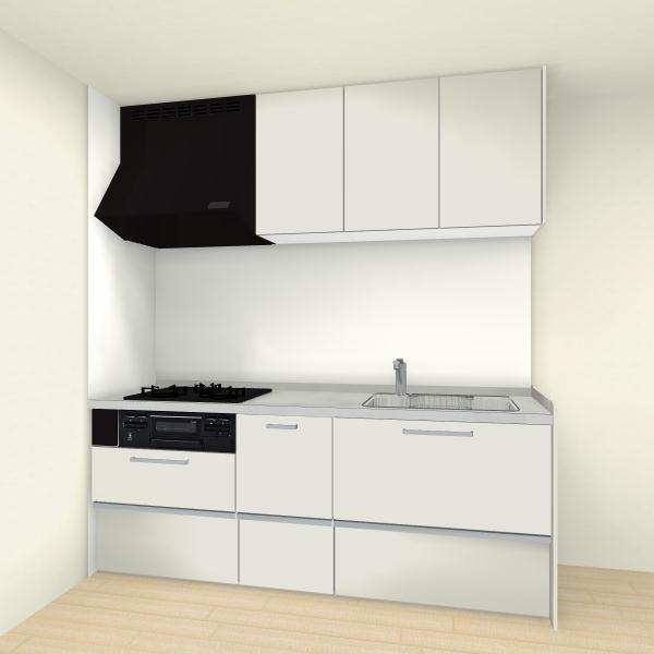システムキッチン クリナップ ラクエラシリーズ I型 間口240cm スライド収納プラン(※食器洗い乾燥機なし、キッチンパネルは別途になります。)