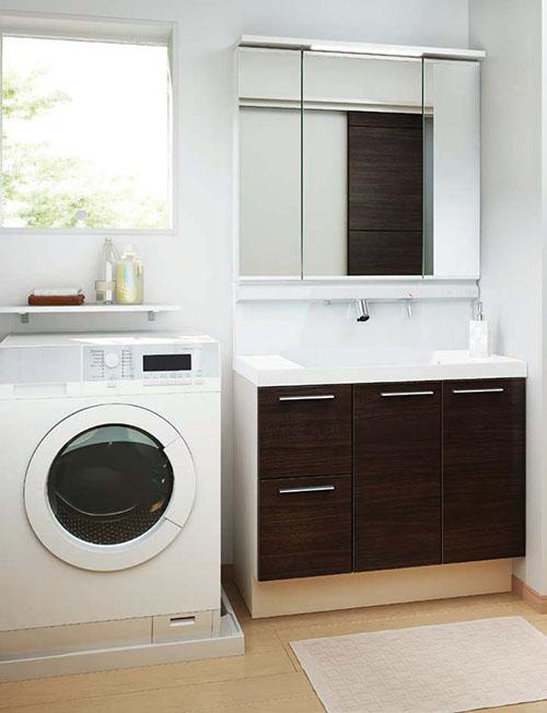 洗面室 洗面化粧台 リクシル L.C.<エルシィ> 間口90cm