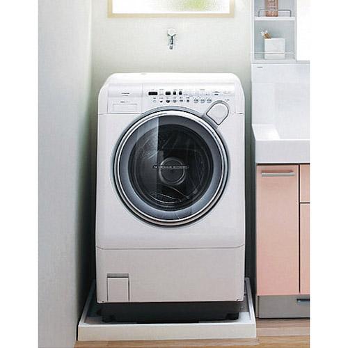 洗面室 洗濯機パン+洗濯機用水栓