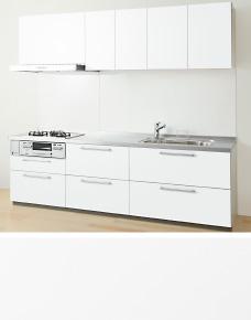 システムキッチン TOTO ミッテシリーズ マンションリモデルプラン 間口240cm (※食器洗い乾燥機なし、キッチンパネルは別途になります。)